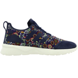 Blå Adidas Originals Zx Flux Adv Verve skor i S75985