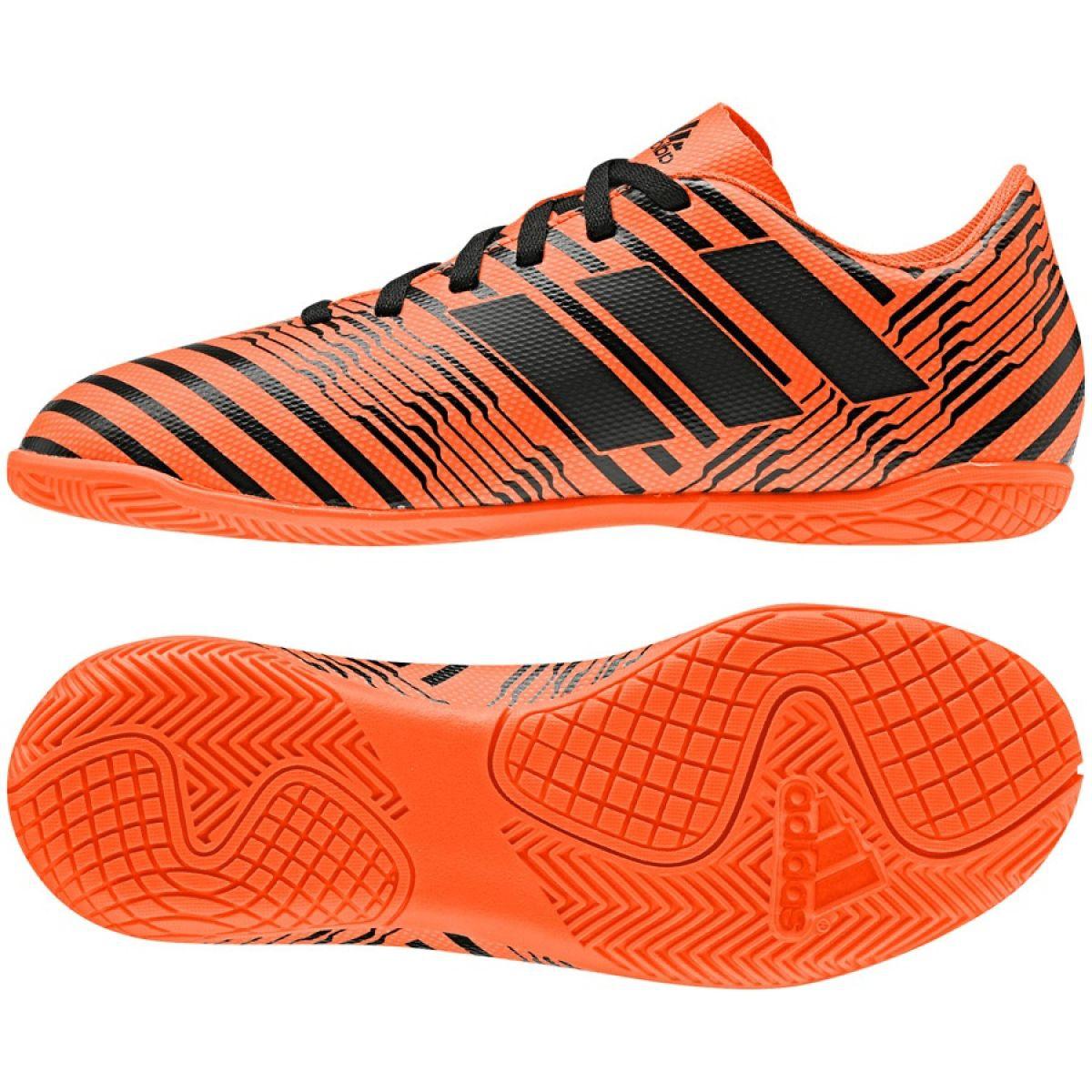 Inomhusskor adidas Nemeziz 17.4 I Jr S82467 apelsin apelsin