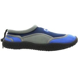 Aqua-Speed Jr. Neopren Beach Shoes Navy-Gray