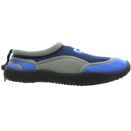Aqua-Speed Jr. Neopren Beach Shoes Navy-Gray