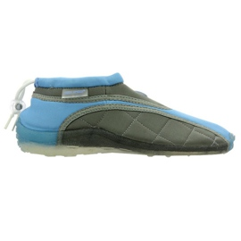 Aqua-Speed Jr neoprenstrandskor blågrå