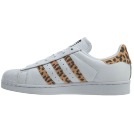 Vit Adidas Originals Superstar skor W CQ2514