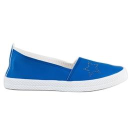 Kylie Slip-on sneakers blå
