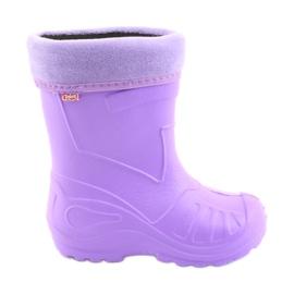Lila Befado barnskor galosh-violet 162Y102