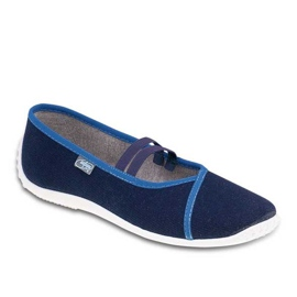 Befado jeansskor 345Q158 marinblå
