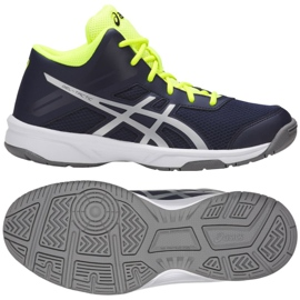 Volleybollskor Asics Gel Tactic Mt Gs Jr C732Y-400-400