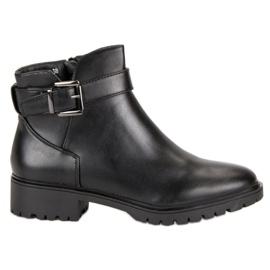 Vices Boots Låg Med Spänne svart