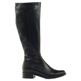 Boots black officer Arka 7217 svart
