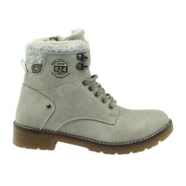 Gråa, bondade skor DK2025
