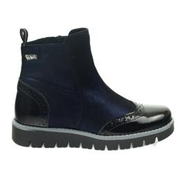 Ren But Varm stövlar Ren Boot 4379 Navy Blue