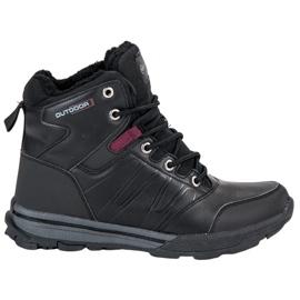 Svart Women's Trekking Shoes från MCKEYLOR