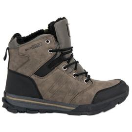 Brun Women's Trekking Shoes från MCKEYLOR