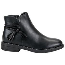 Filippo Flat Boots Women svart