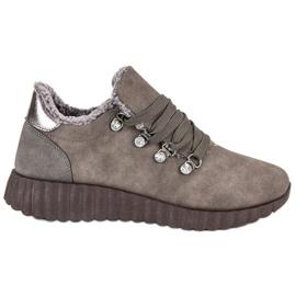 Kylie Suede sneakers brun