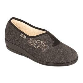Befado kvinnors skor pu 940D357 brun