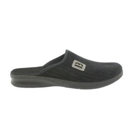Befado mäns skor tofflor 548m015 svart