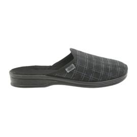 Befado mäns skor tofflor 089M408 svart