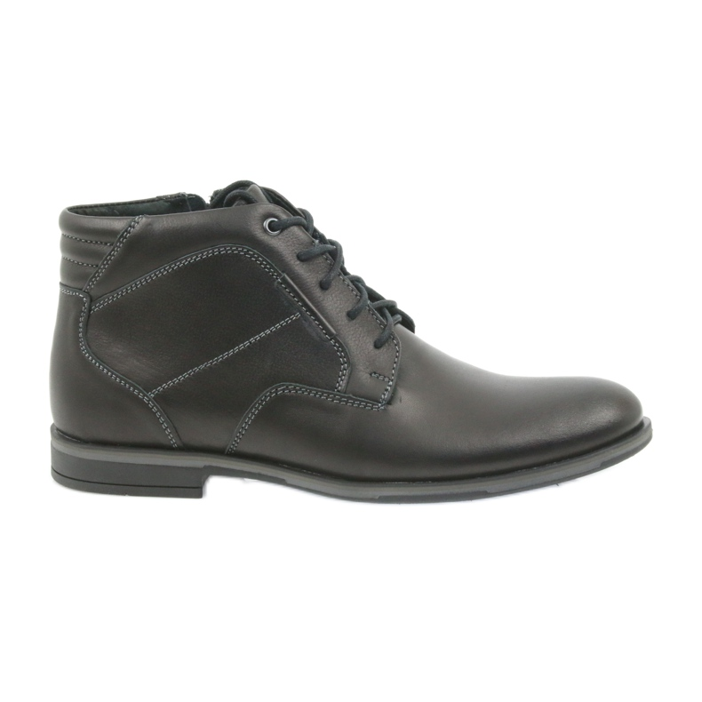 Riko mäns skor booties Jodhpur 861 svart