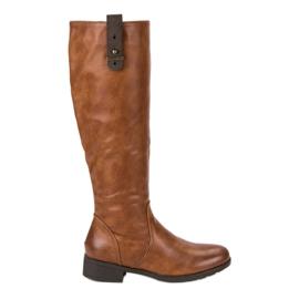 Filippo Klassiska plana skor brun