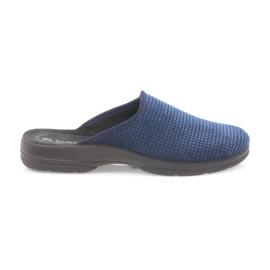 Inblu Mäns tofflor marinblå