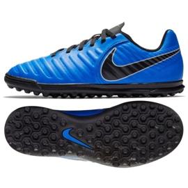 Fotbollskor Nike Tiempo Legend 7 Club Tf Jr AH7261-400