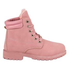 Bestelle Pink Warm Trappers rosa
