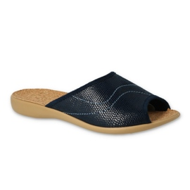 Befado kvinnors skor pu 254D093 marinblå