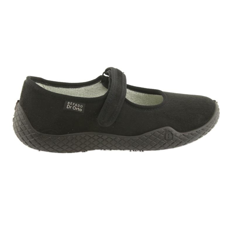 Befado kvinnors skor pu - ung 197D002 svart