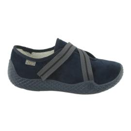 Befado kvinnors skor pu - ung 434D015 marinblå