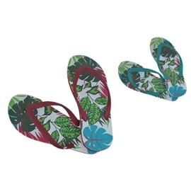 Flerfärgad Tofflor, Speedo Jungle Thong flip-flops