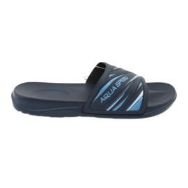Tofflor Aqua-Speed Idaho 68-10 marinblå