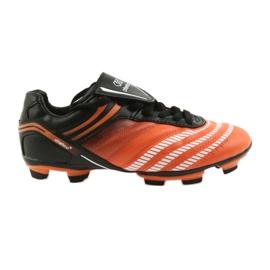 Fotbollsskor Atletico FG Jr 14-1216 svart, orange apelsin