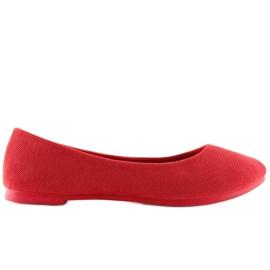 Röda kvinnors ballerina JX1018 Red