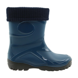 Marinblå Demar galoshes kvinnors skor varm socka