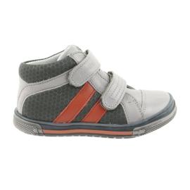 Ren But Boote skor Velcro stövlar Ren Men 3225 grå / orange