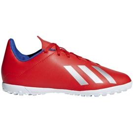 Fotbollsstövlar adidas X 18.4 Tf Jr BB9417