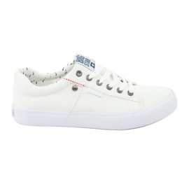 Big Star Mäns sneakers bundna vita 174097