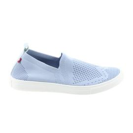 Blå Big Star slipony slip-on sneakers 274785