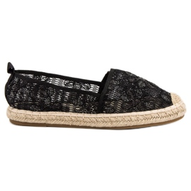 Sweet Shoes Spetsar Espadrilles svart