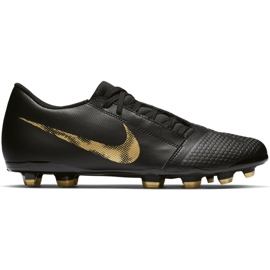 Fotbollsskor pluggar, Herr, Nike Phantom Venom Academy FG AO0566 077, Svart