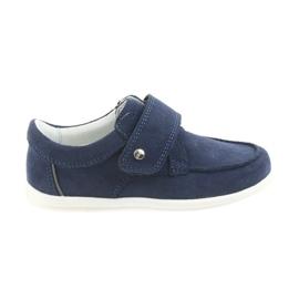 Bartek Casual skor för pojkar 58599 granat marinblå