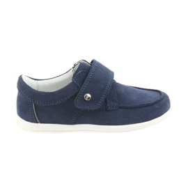 Bartek marinblå Casual skor för pojkar 58599 granat