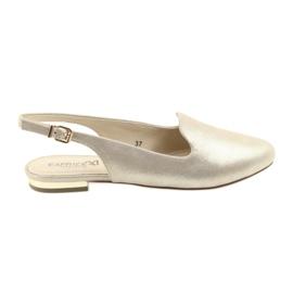 Gul Caprice lordsy kvinnors gyllene skor 29400