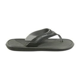 Atletico Black Men's flip-flops