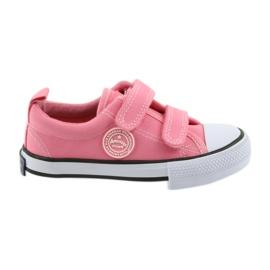 Amerikanska rosa sneakers American Club LH50