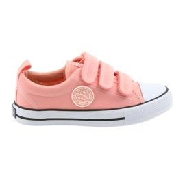 American Club Amerikanska sneakers rosa sneakers LH49