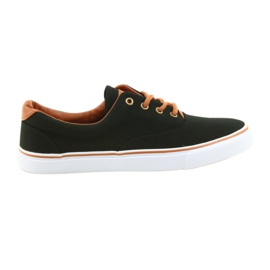 American Club Herrskor svart sneakers LH03