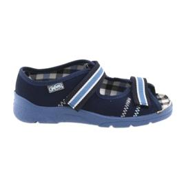 Sandaler barnskor Velcro Befado 969x101 marinblå