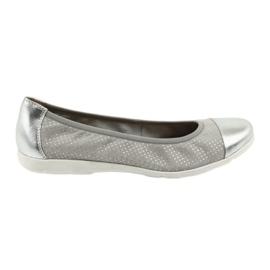 Ballerinas Caprice 22152 grå