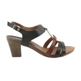 Caprice kvinnors sandaler guld ovala